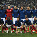 La liste des 23 pour Luxembourg - France