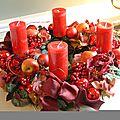 Thème : Noël Créations Florales
