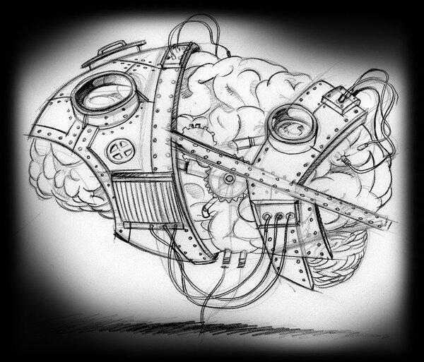 Croquis - Mentallurgy