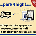 stationnement camping car