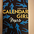 Calendar girl, tome 3 : Mars