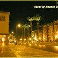 Parlement Rabat la nuit