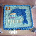 Gâteau dauphins