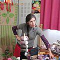 Elfie et ses tricots originaux