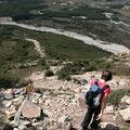 descente du Mont Fitz Roy