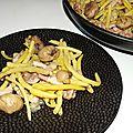 Poêlée de haricots beurre aux marrons
