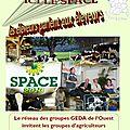 Le space à rennes les 12 /13 septembre et le 14 septembre, le mont-saint-michel, saint-malo...on vous emmène !