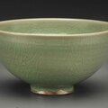A green junyao, bowl, song dynasty, 12th century