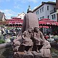 Sculptures et statues vues à marktheidenfeld (allemagne) les 28 et 29 avril 2018 (3)