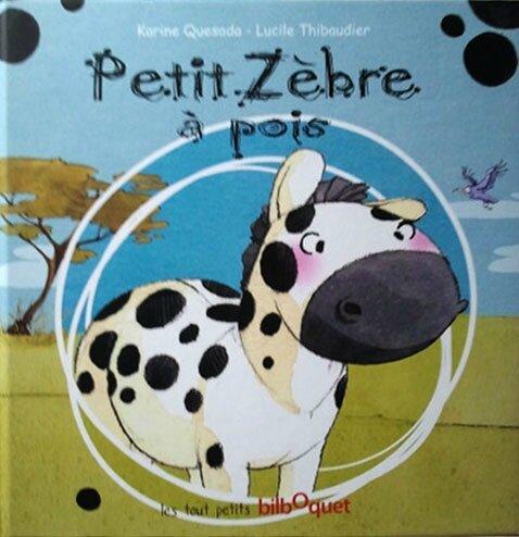 petit zebre à pois