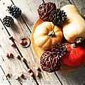Fruits d'automne esprit kinfolk