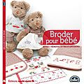 La <b>broderie</b> - Editions Marie Claire