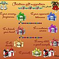 Suggestion de cadeaux de Noël - Christmas gift suggestions
