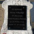 Virard henri (le poinçonnet) + 24/03/1918 verdun (55)