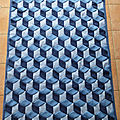 <b>Plaid</b> Vasarely terminé