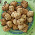Cookies aux amandes (11/10/10)