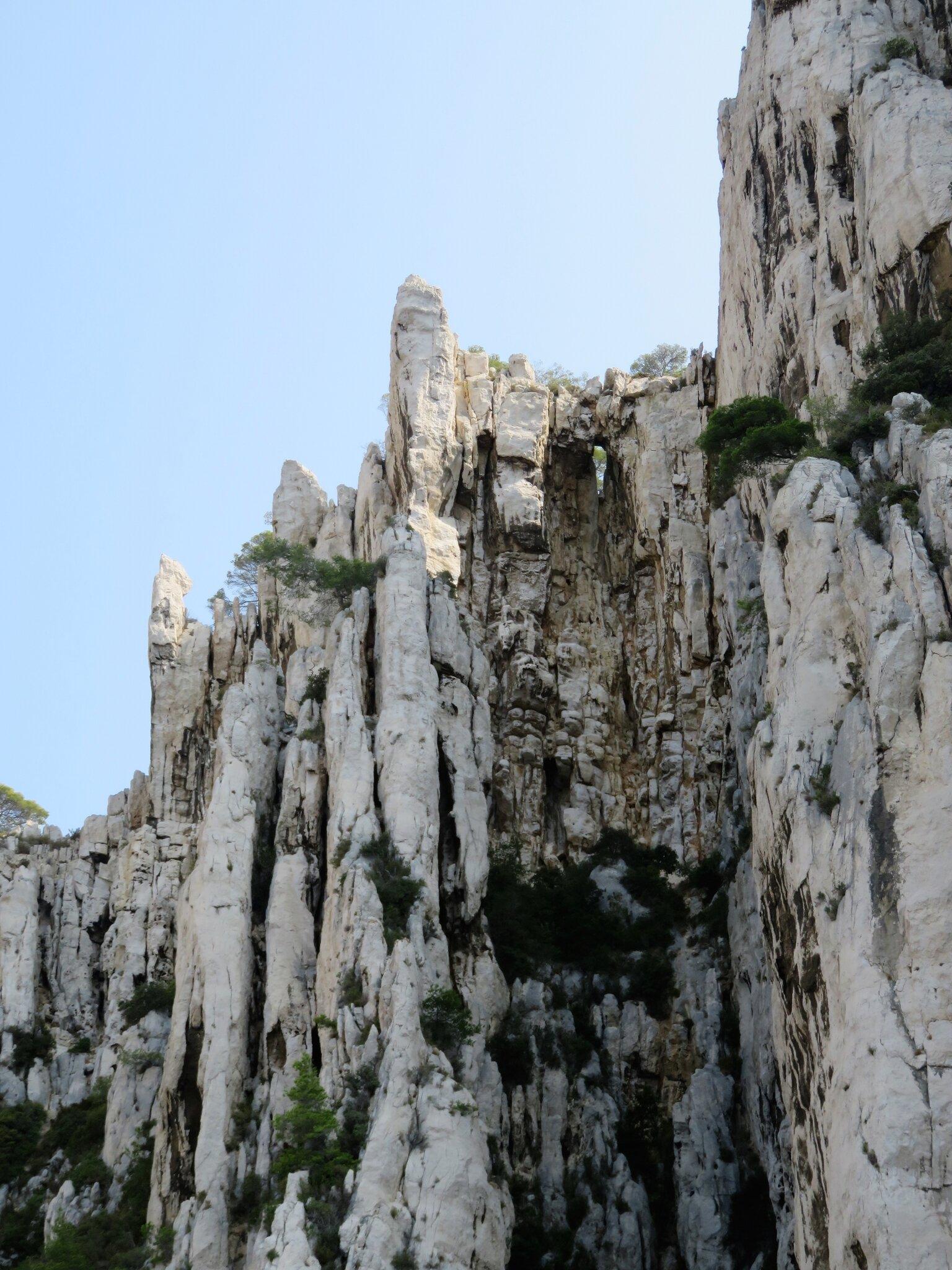 Falaises côtières entre Cassis et Marseille 4/7