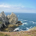 Pointe de Pen-Hir et ses îlots rocheux