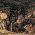 Au coin du feu (J.B. Monge)