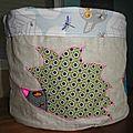 grand bac de rangemen en tissu fait main, handmade fabric storage bag (13)