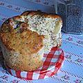 Les muffins citron-pavot qui déchirent grave