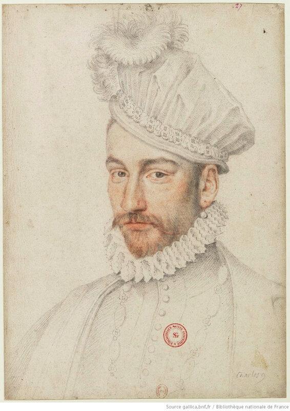 Charles IX, BnF
