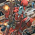 Panini Marvel Monster <b>Cable</b> & Deadpool