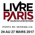 Jeunes Ecrivains au <b>salon</b> du <b>Livre</b> de <b>Paris</b>
