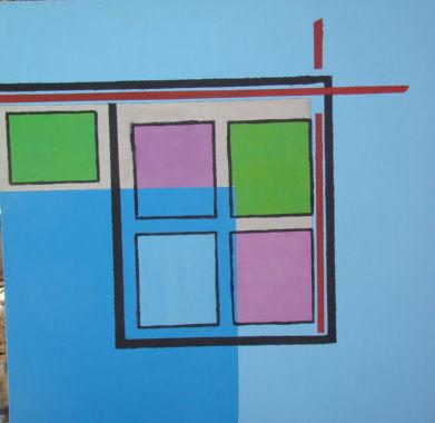 Atelier, photos de céramiques et tableaux Louise 081