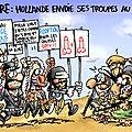 Hollande envoie ses troupes au mali