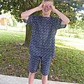 <b>Pyjama</b> estival pour garçon : <b>short</b> et tunique à rayures des Nouveaux Intemporels pour Enfants#21