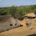 Edward et Nawey, village Karen