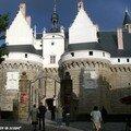 Château des Ducs de Bretagne à Nantes: le Pont-levis