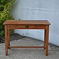 Table de ferme, bureau, <b>console</b>
