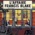 L'affaire francis blake, bd de jean van hamme et ted benoit (1996)