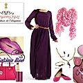 Robe prune maryam style