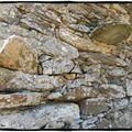 Murs et structures, habitats traditionnels de Balagne...