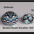 Eventail beadedbeads © B