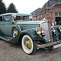 PIERCE <b>ARROW</b> 836 Club Brougham 2door Sedan 1933