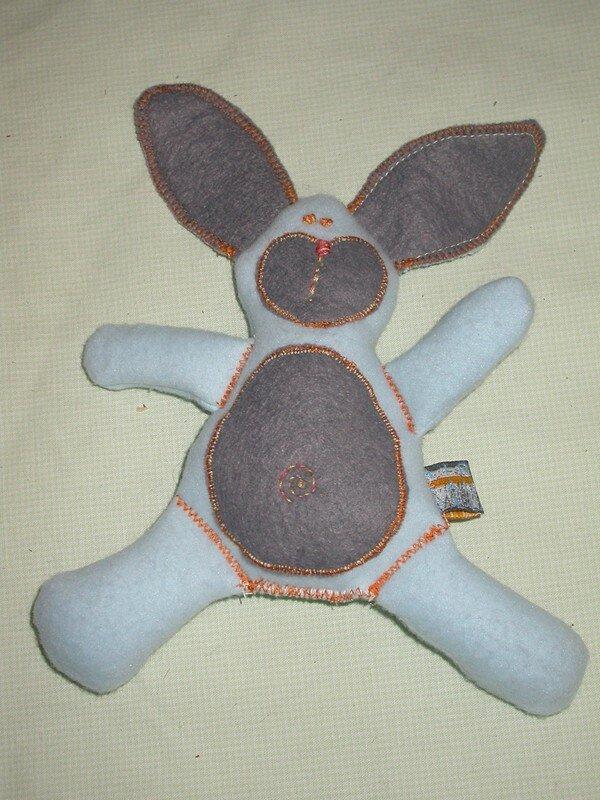 Un doudou lapin pour mosieur Dada