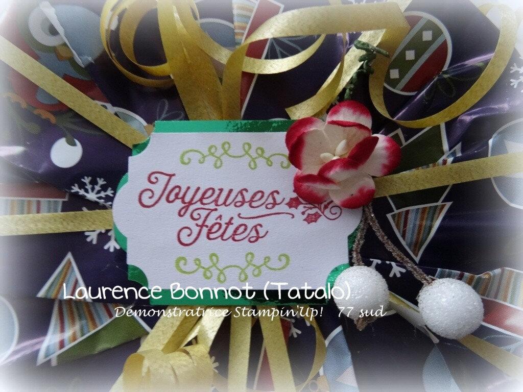 Emballages, boites, étiquettes et papier cadeaux !
