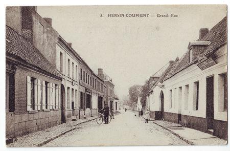 62 - HERSIN COUPIGNY - Grand Rue