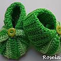 Crochet et tricot? Des chaussons Citrouille