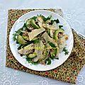 <b>Salade</b> de poire, avocat et parmesan
