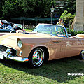 La ford thunderbird avec continental kit cabriolet de 1956 (34ème internationales oldtimer meeting de baden-baden)