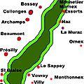 Villages autour du Salève
