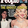 Michael & madonna, the oddest couple - people weekly, 15 avril 1991