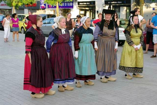 visite théâtralisée Vieux Bourg (1)