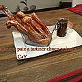 Churros et pâte à tartiner choco noisette