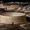 <b>Maquettes</b> de la Rome antique
